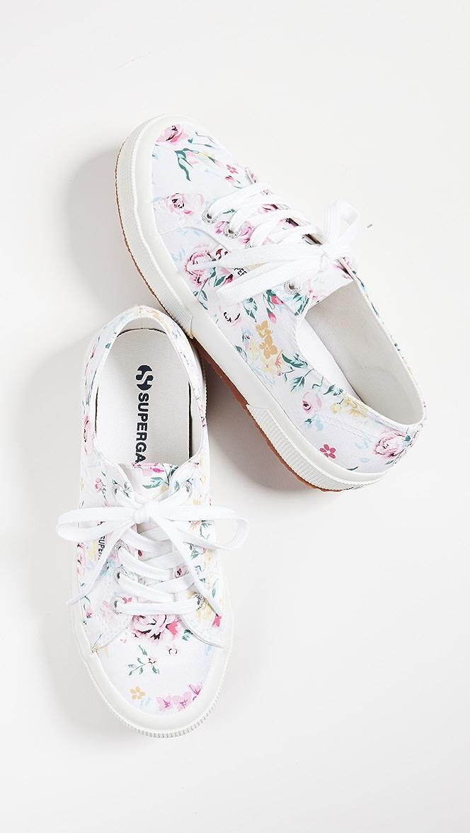 Superga 2750 Floral Print Sneakers