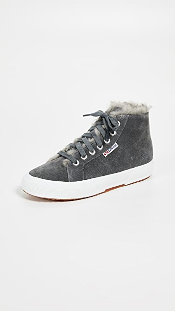 Superga 2795 Faux Fur Lined Sneakers