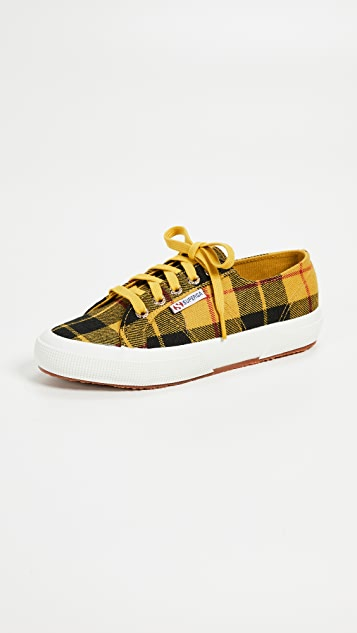 2c3d340aab29 Superga 2750 Tartan Lace Up Sneakers