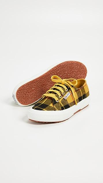 Superga 2750 Tartan Lace Up Sneakers
