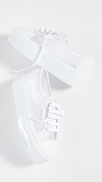 Superga 2790 Mesh Platform Sneakers
