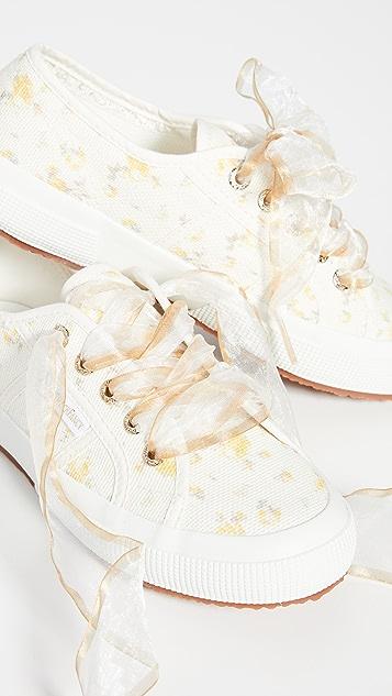 Superga x LoveShackFancy 2750 Ikat Floral Sneakers