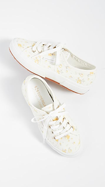 Superga x LoveShackFancy 2750 扎染花卉运动鞋