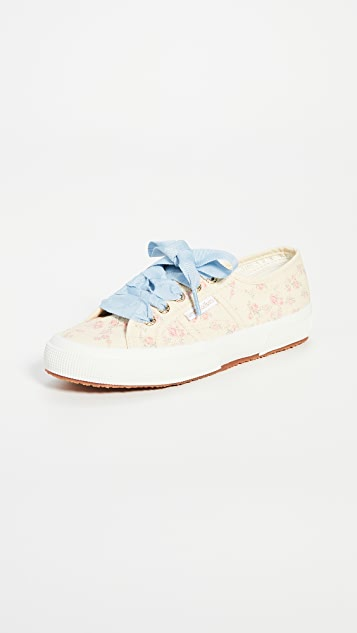 Superga x LoveShackFancy 2750 Rosetta Floral Sneakers