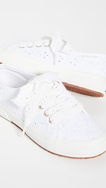 X Love Shack Fancy 2750 Sangallow Sneakers by Superga