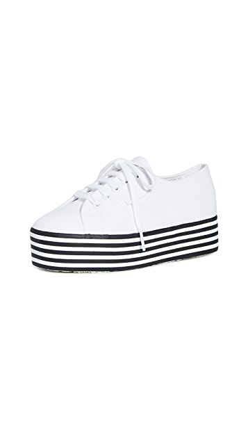 Superga 2790 Multi Stripes Platform Sneakers