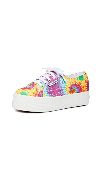 Superga 2790 Fabric Fan Tie Dye W Sneakers