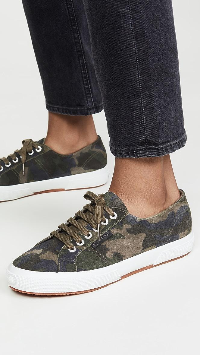 Superga 2750 Sue Camouflage Sneakers