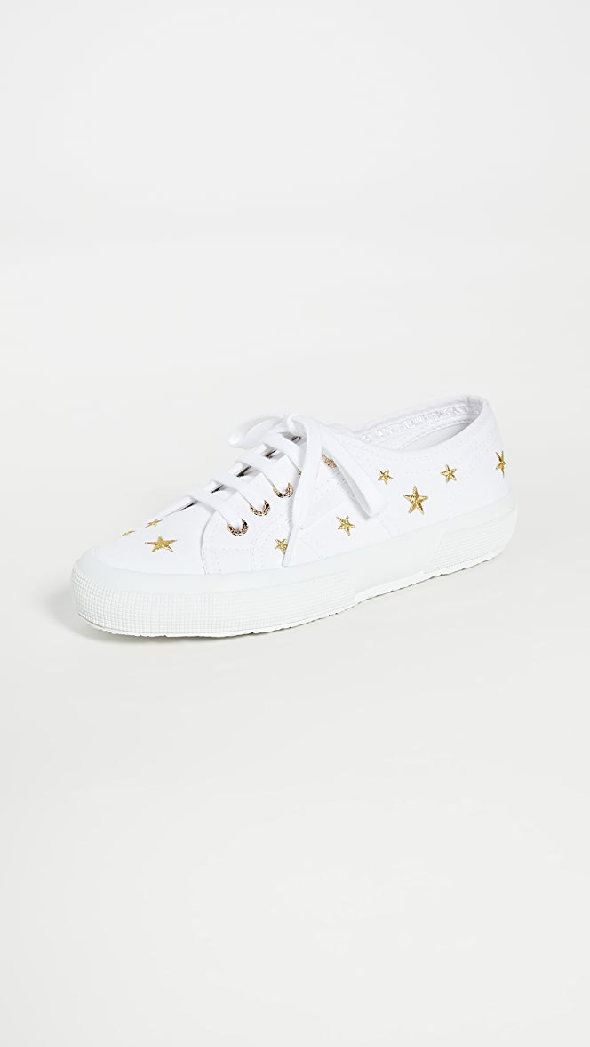 Superga 2750 Embroidered Sneakers | SHOPBOP