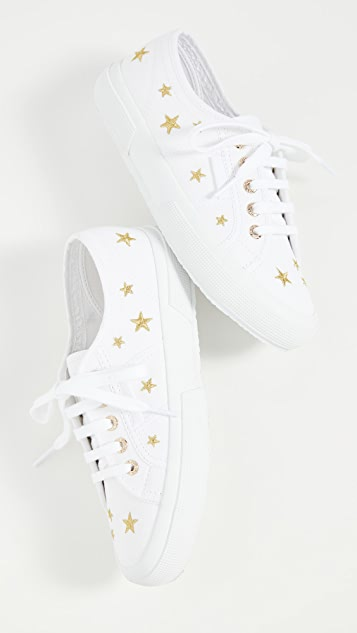 Superga 2750 Embroidered Sneakers