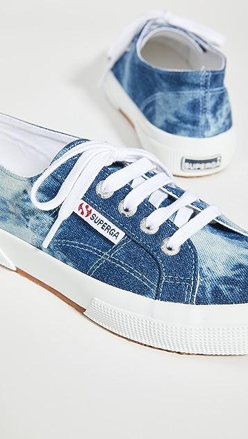 Superga 2750 Tie Dye Denim Sneakers