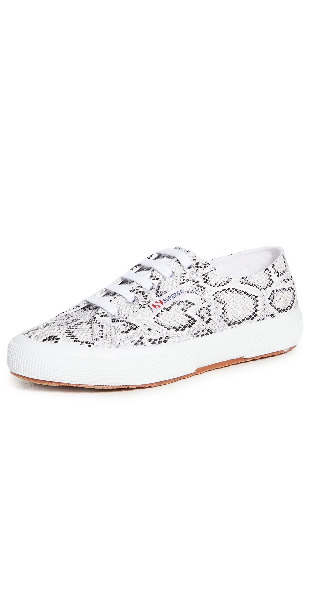 Superga 2750 Snake Lace Up Sneakers