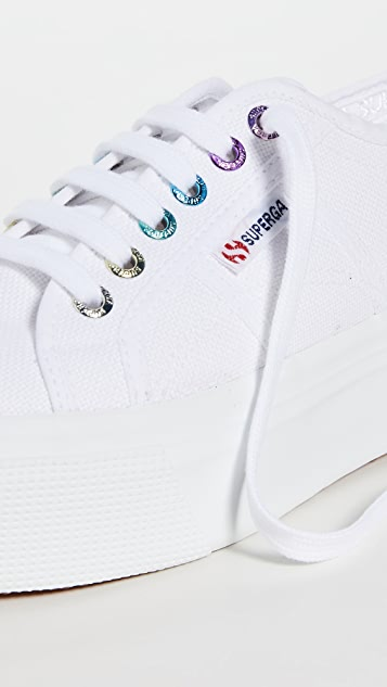 Superga 2790 彩色圆孔运动鞋