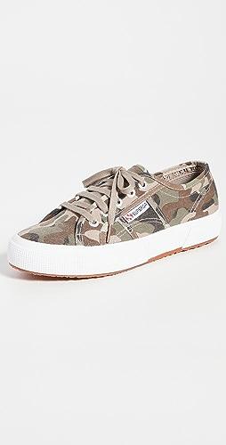 Superga - 2750 Camo Print Sneakers