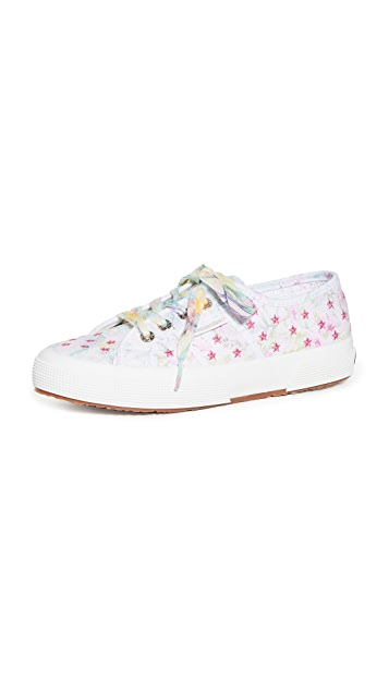 Superga x LoveShackFancy 2750 Flowers and Embroidery