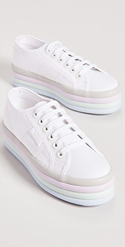Superga - 2790 Candy 大号圆孔运动鞋