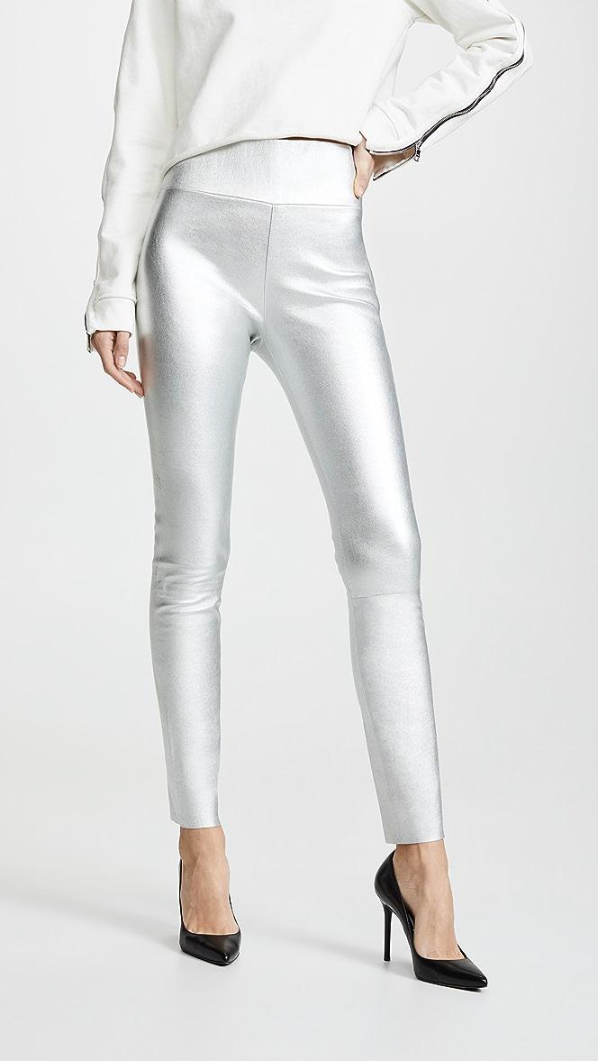 cafd91c0c365eb SPRWMN High Waist Leather Leggings | SHOPBOP