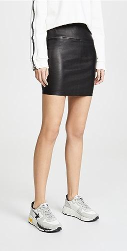 SPRWMN - Leather Miniskirt