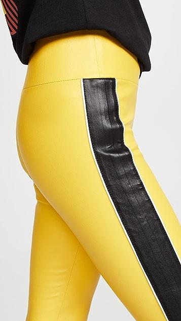 SPRWMN Tuxedo Stripe Capri Leggings