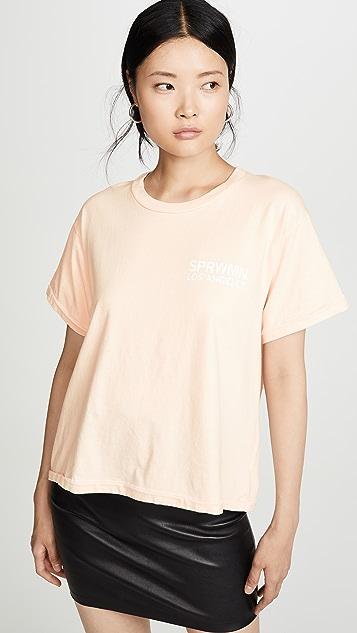 SPRWMN SPRWMN 徽标 T 恤