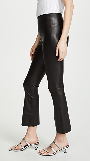 SPRWMN Crop Flare Leggings