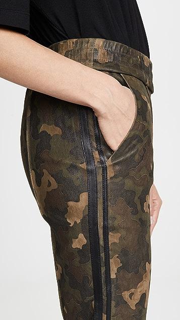 SPRWMN 运动风格修身慢跑裤