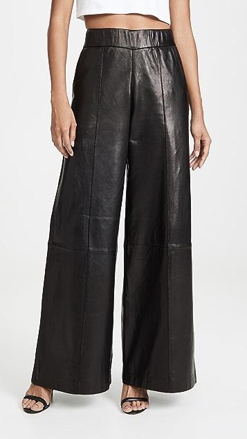 SPRWMN Wide Leg Trousers