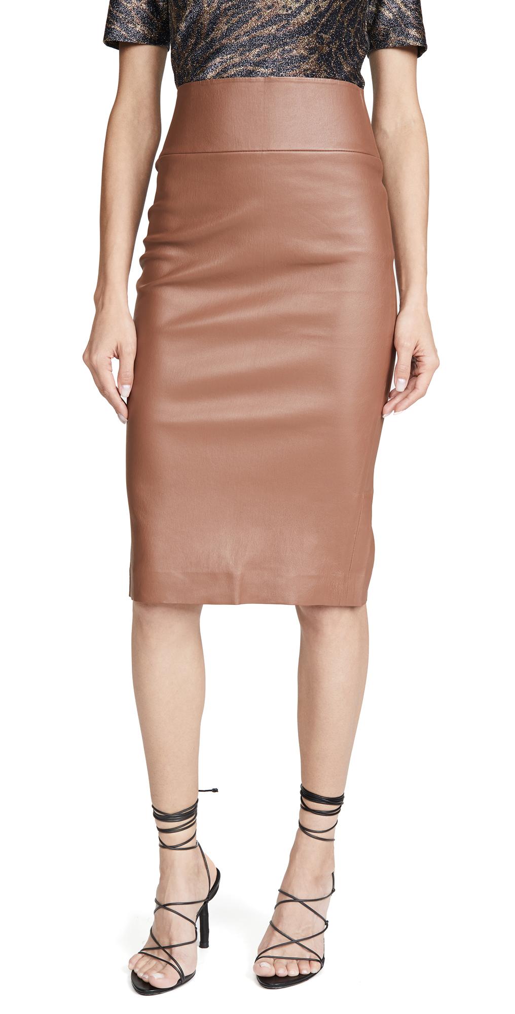 SPRWMN Leather Pencil Skirt