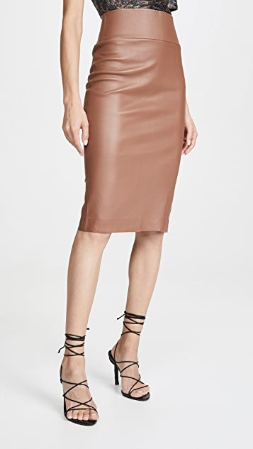 SPRWMN Leather Pencil Skirt