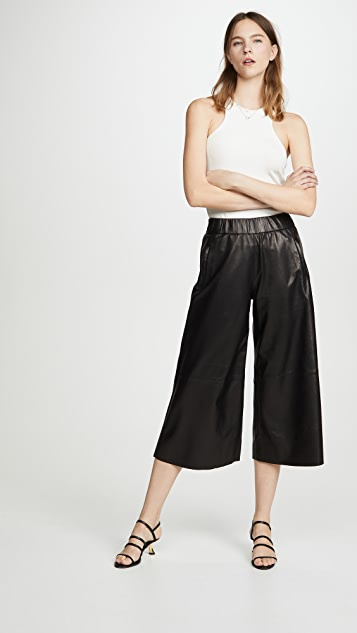 SPRWMN Leather Culottes