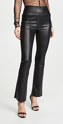SPRWMN - 高腰九分喇叭贴腿裤