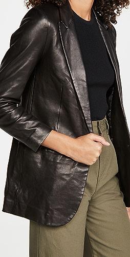 SPRWMN - Leather Blazer