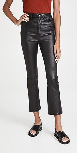 SPRWMN - 五口袋中长喇叭裤