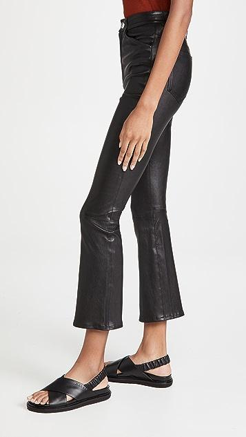 SPRWMN 五口袋中长喇叭裤