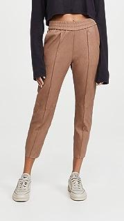 SPRWMN 口袋设计修身慢跑裤