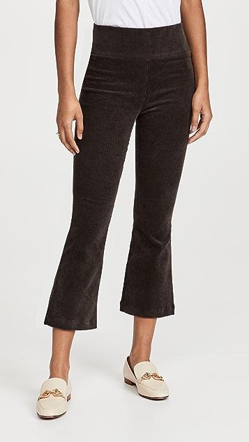 SPRWMN Crop Flare Corduroy Pants