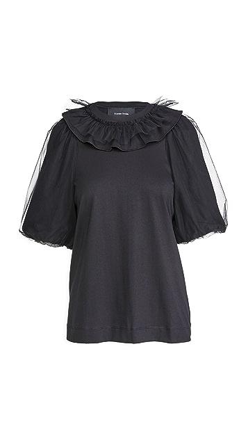 Simone Rocha 泡泡袖 T 恤