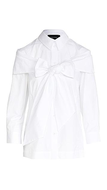 Simone Rocha Bow Boy Shirt