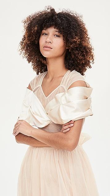 Simone Rocha Wrap Top