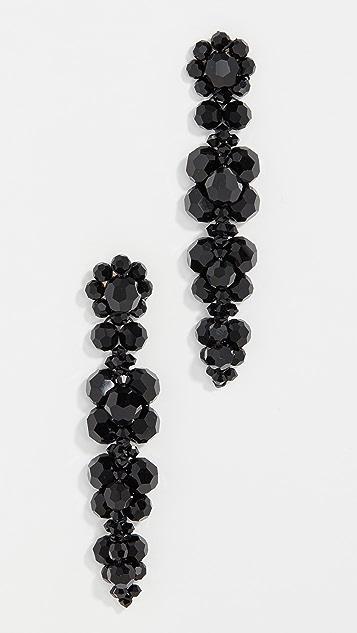 Simone Rocha Cluster Drip Earrings