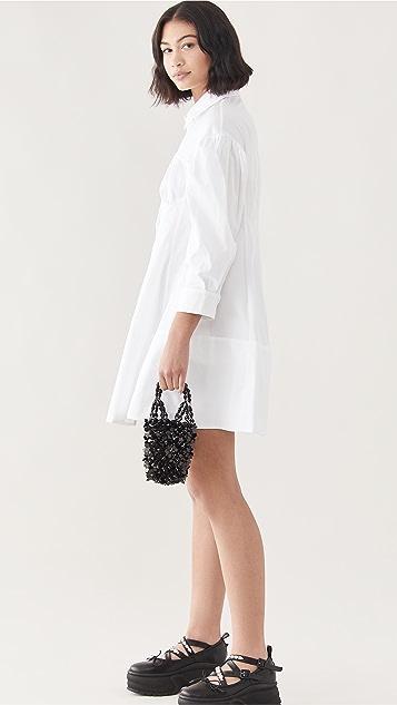 Simone Rocha Handheld Beaded Bindle Bag