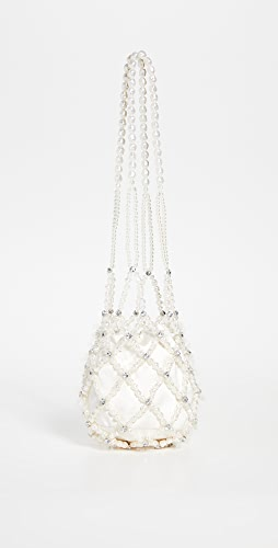 Simone Rocha - Long Drop Egg Beaded Bag