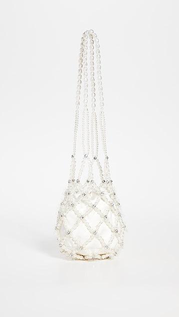 Simone Rocha Long Drop Egg 珠饰包
