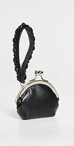 Simone Rocha - Snap Coin Purse with Beaded Wristlet