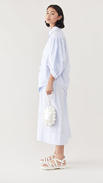 Simone Rocha 手拎有机玻璃珍珠雏菊包