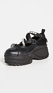 Simone Rocha Track Sole Ballerina Platform Sneakers