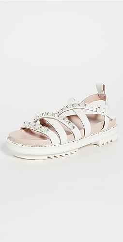 Simone Rocha - Crisscross Track Sandals