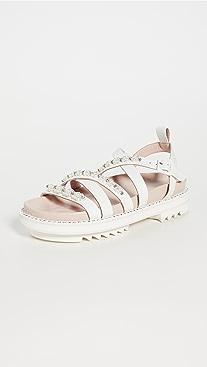 Simone Rocha Crisscross Track Sandals