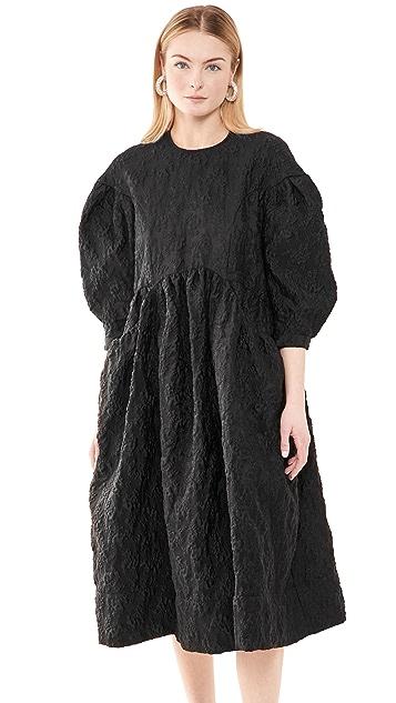 Simone Rocha Drop Pocket Smock Dress