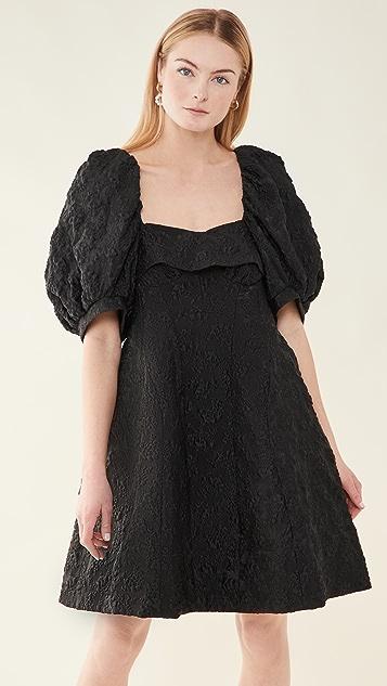 Simone Rocha 泡泡袖束身连衣裙